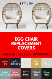 opalhouse egg chair replacement