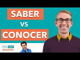 Saber Vs Conocer How To Get To Know These Useful Spanish Verbs