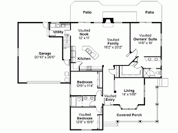 eplans bungalow house plan three bedroom bungalow 2000 square