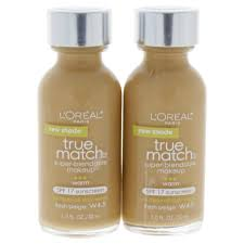 l oreal paris true match super blendable makeup spf 17 w4 5