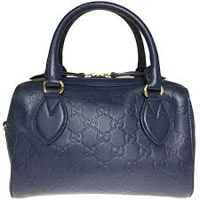 gucci navy blue guccissima leather shoulder bag nextprev prevnext