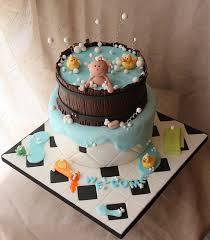 baby shower cake tub