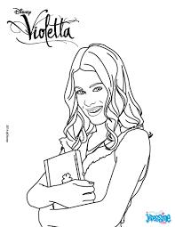 18 Dessins De Coloriage Violetta Disney Channel Imprimer