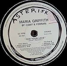 Maria Griffith By Cisky & Ferrari* - For Your Love (1995, Vinyl) | Discogs