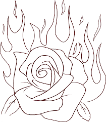 Small Picture red rose picture of fluffy teddy bear hold a rose coloring page