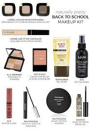 naturally pretty back to makeup kit natural l oreal