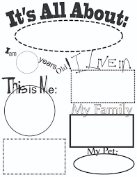 Small Picture Best 25 All about me worksheet ideas on Pinterest All about me