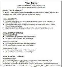 How To Make A Resume For Job Interview