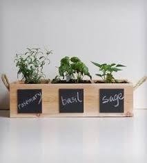 Wooden Kitchen Herb Garden Kit | Balcony & Garden | Pinterest | Gardens,  Herbs garden and Kitchen herb gardens