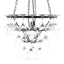 diy wine glass chandelier outstanding wine glass chandelier kit wine glass chandelier kit the art of
