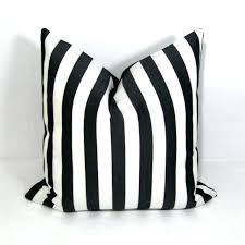 black and white striped outdoor pillows black and white outdoor pillows with vertical stripes cover