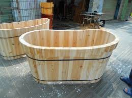 how to make a timber bathtub ideas