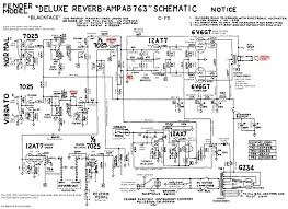 how the ab763 works the ab763 deluxe reverb schematic annotations