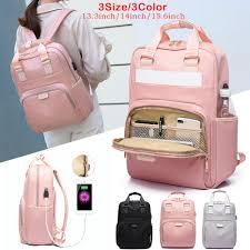 <b>Litthing Waterproof</b> Pink Laptop <b>Backpack</b> Female Fashion Girl ...