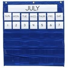 Pacon Calendar Weather Pocket Chart Pacon 20200 Monthly Calendar Pocket Chart
