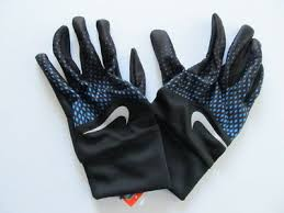 Nike Mens Dri Fit Tempo Running Gloves Lt Photo Blue Black