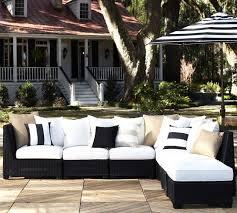 Malibu Black Wicker Outdoor Chair  Tropical  Outdoor Lounge Black Outdoor Wicker Furniture