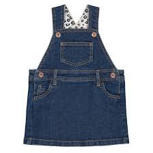 Джинсовый <b>платье</b>-<b>комбинезон</b>, 1 мес.-3 года синий <b>La Redoute</b> ...