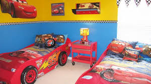 Disney Cars Bathroom Accessories Wonderful Toddler Bed With Lightning Mcqueen Race Car Theme Kid