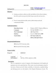 How To Write A Resume For Doctor Job Specimen Of Curriculum Vitae