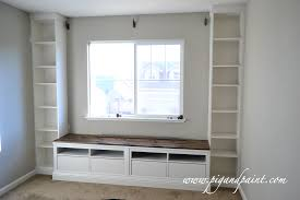 Shelves Around Window Bookshelves With Seating Bookshelves With Storage Bookshelves