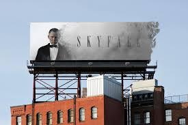 Full Sail University Art And Design Skyfall Advertisement Billboard Created By Nicholas Cordes