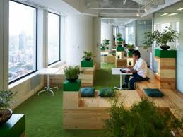 green office ideas. lovely warm office green ideas e