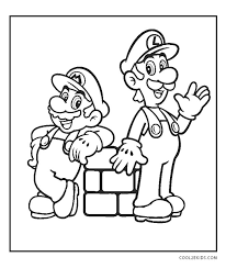Coloringonly has got full collection of printable mario coloring sheet for free to download, print and color in your free time. Free Printable Mario Brothers Coloring Pages For Kids