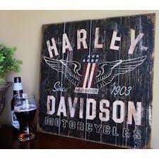 Harley Davidson Signs Decor Reclaimed Wood Sign Harley Davidson By RusticWoodsCompany On Etsy 66