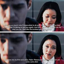As an ode to cheesy romance, to all the boys i've loved before has a lot of moments we will never forget. Lj On Twitter Lara Jean S Letter To Peter K To All The Boys I Ve Loved Before Movie X Book Quotes Toalltheboysivelovedbefore