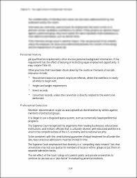 personal history job qualification requirements often involve personal history job qualification requirements often involve personal