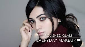 everyday glam makeup tutorial easy and polished