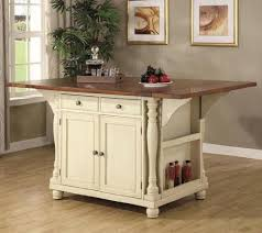 Coaster Large Scale Kitchen Island in a Buttermilk and Cherry Finish  Coaster Home Furnishings http: