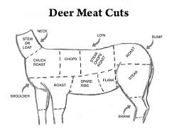 Deer Meat Chart Rates Ansteads Deer Processing For Indiana Ohio And Michigan