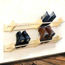 wall shoe holder wall mounted shoe rack horizontal shoe rack hanging shoe organizer hanger holder