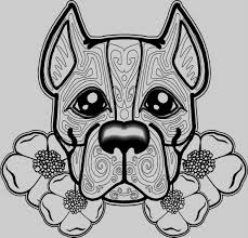 Pug Coloring Sheets Free Dog Coloring Pages For Adults Kantame