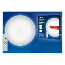 Cветильник светодиодный накладной <b>Uniel ULI</b>-<b>D214</b> 72W/SW ...