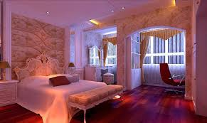 Luxury Bedroom Curtains Bedroom Interior Design With Bed Wardrobes Wooden Floor Curtains