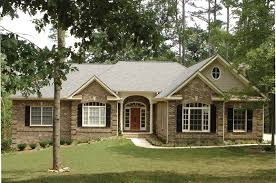 perfect design brick house plans country french house plan front of home 013d 0053 house plans