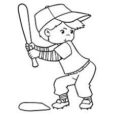 Small Picture Top 20 Baseball Coloring Pages For Toddlers