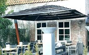 patio umbrella gallery umbrellas of porch split canopy offset outdoor clearance
