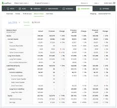 Cash Flow Sheets Liveplan Update Cash Flow And Balance Sheet On The