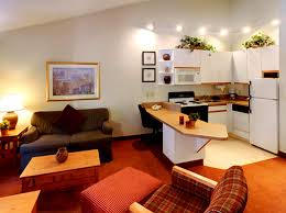 Kitchen Hospitality Interior Design Apartment Style Studio CrestHill Suites  Syracuse NY