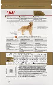Puppy Feeding Chart Golden Retriever Royal Canin Golden Retriever Adult Dry Dog Food 30 Lb Bag