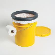 make a homemade camping toilet diy