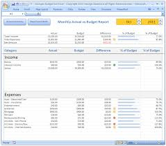 Excel Monthly Budget Spreadsheet Personal Budgeting Software Excel Budget Spreadsheet Template