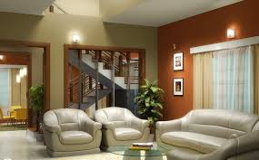 Modern Living Room With Brown Leather Sofa Modern Wall Sconces Living Room A Striking Mint Sofa In A Modern