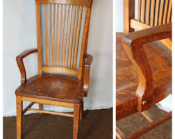 antique wooden office chair. f4458 antique american quartersawn oak office chair wooden a