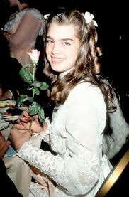 This brooke shields photo might contain bouquet, corsage, posy, and nosegay. Image About Brooke Shields In Pretty Baby By Mitu7