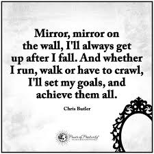 Mirror Mirror On The Wall Quote Mesmerizing Just Rented A New Place Previous Tenant Left The Wall Mirror Mirror